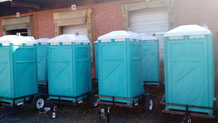 Porta John Trailer : Trailer toilets porta john rental gallery